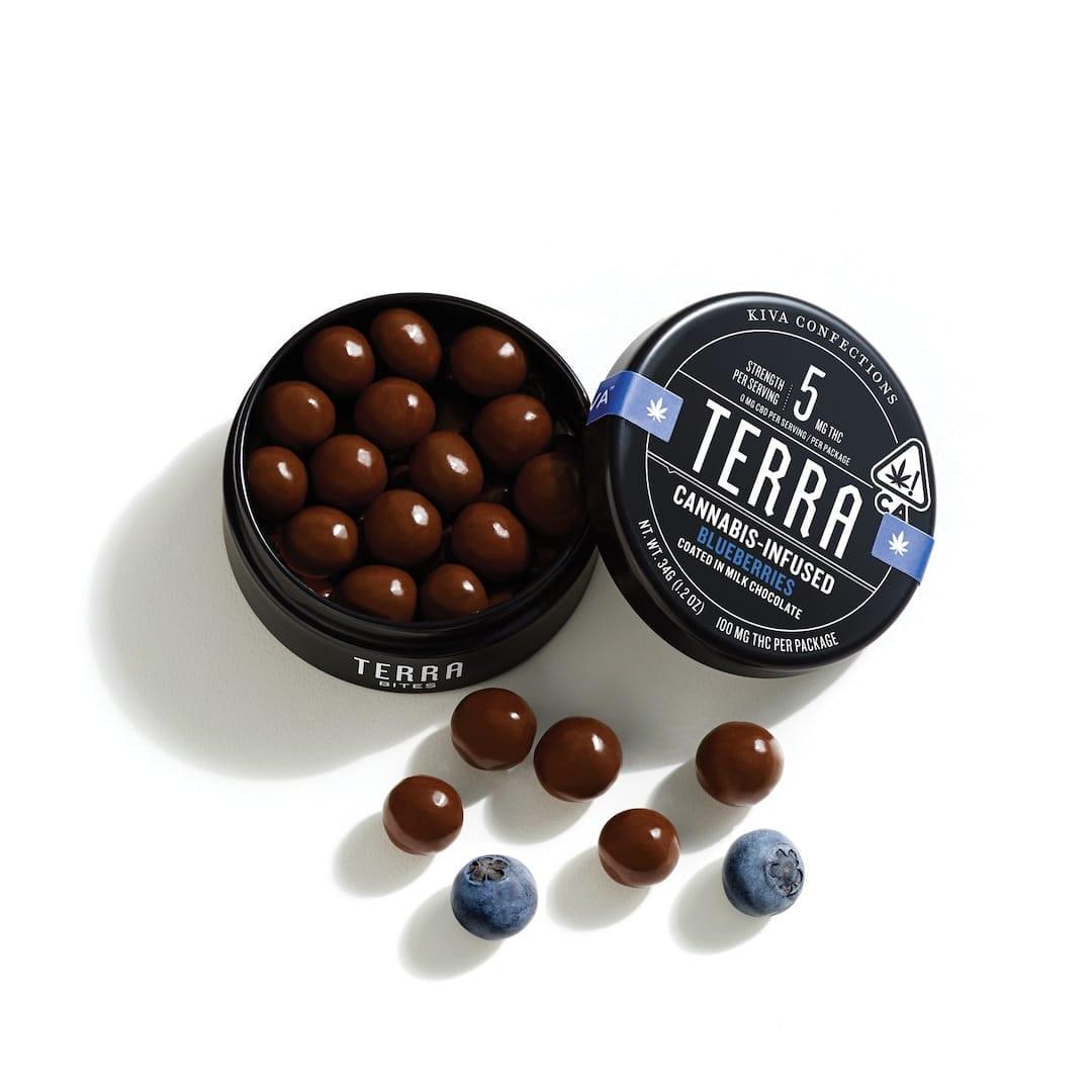Kiva Chocolate Blueberries