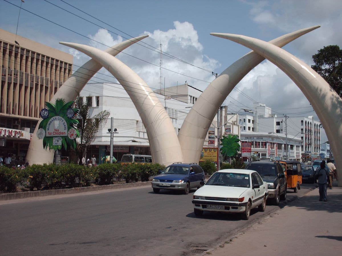 Tusks in City of Mombasa