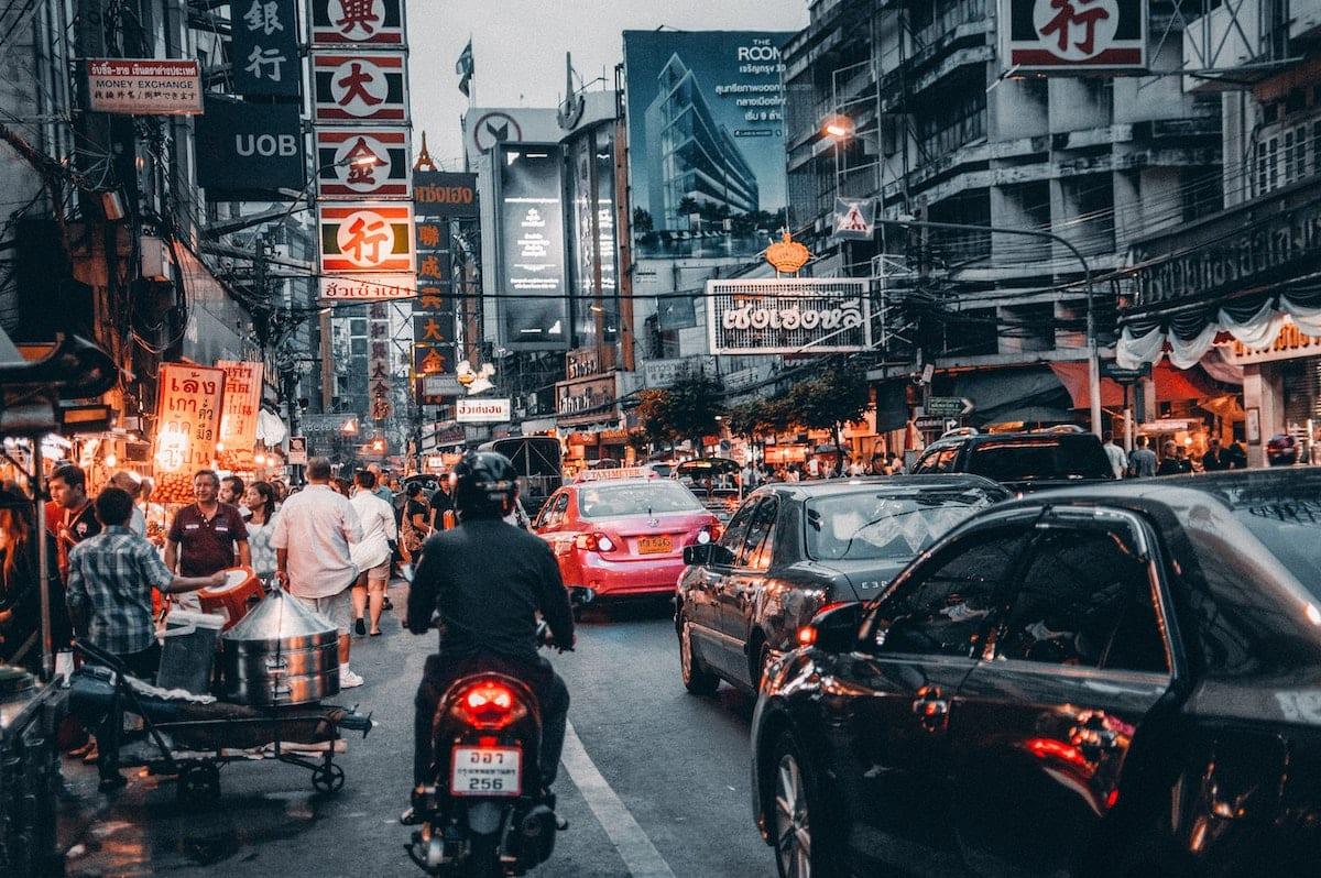 bangkok billboards buildings 708764
