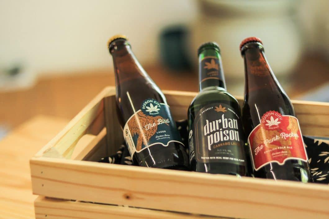 durbon poison cannabis infused beer