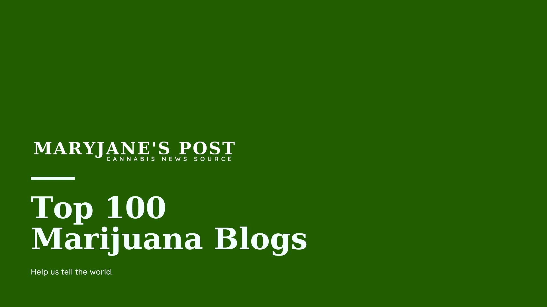 MJP Top100 marijuana blogs