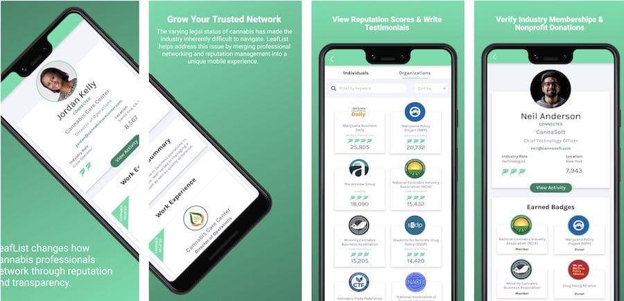 leaflist mobile app maryjanespost.com